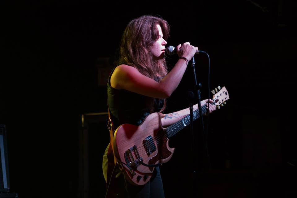"Lauren Gilbert of Thelma and the Sleaze. Rockin' the ""Fancy"" SMG!"